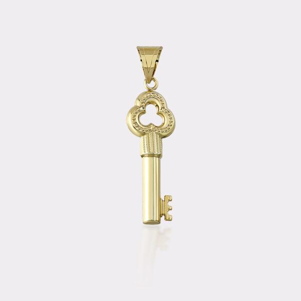 Gold Key Charm