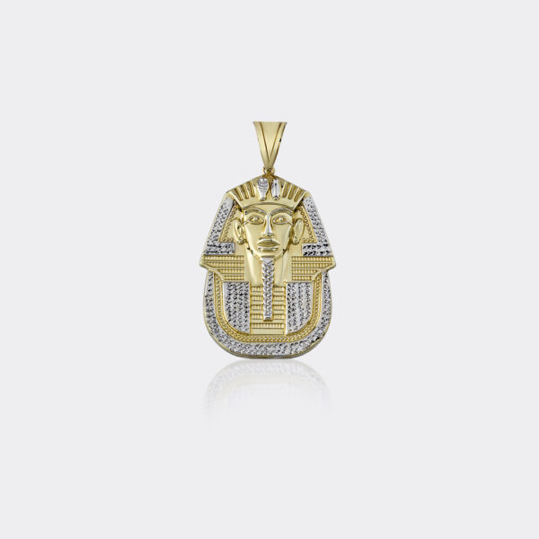 King Tutankhamen Mask Charm