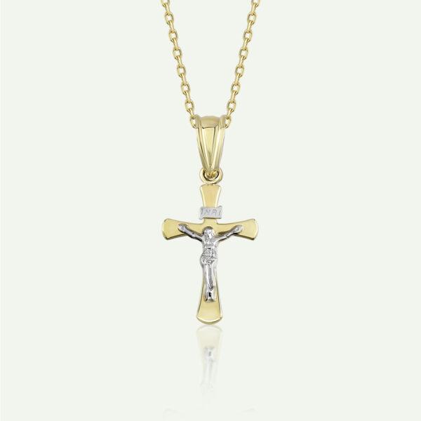 Big Crucifix Necklace
