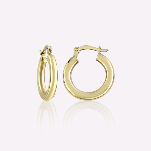 Bold Oval Hoop Earrings