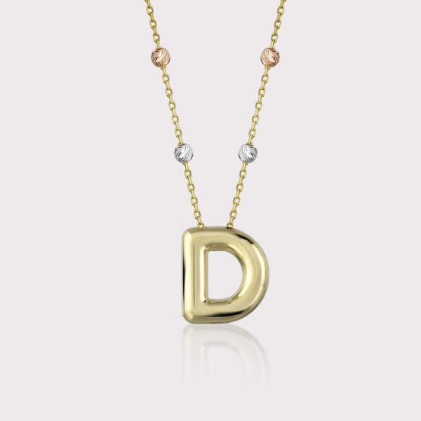 'D' Initial Necklace