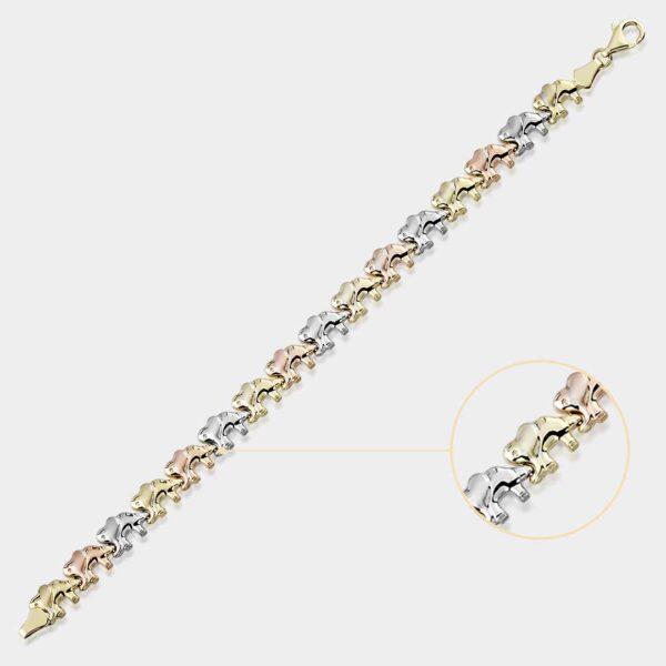 Elephant Stampato Bracelet