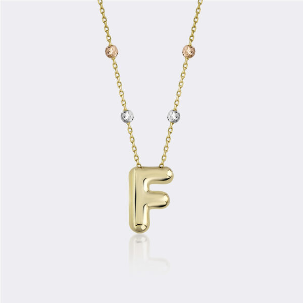 'F' Initial Necklace