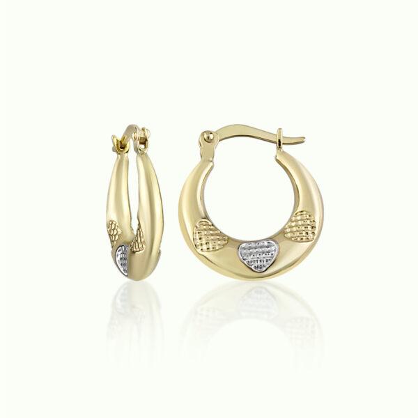 Heart Pattern Earrings
