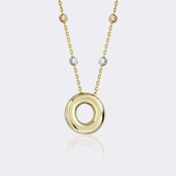 'O' Initial Necklace