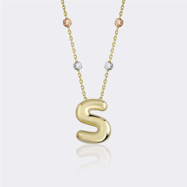 'S' Initial Necklace